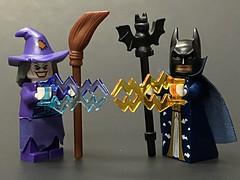Bat-Wizard vs Joker-Witch