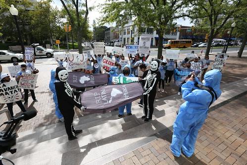 Vaccinate Our World – End J&J Profiteering Demonstration