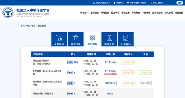 社團法人中華牙醫學會