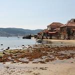Playa y casas