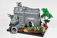 First Order Base on Takoodana | LEGO Star Wars MOC