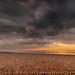 Wide angle, long exposure sunrise ...