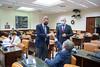 Antonio Gonzalez Terol, Juan Antonio Callejas y Jesús Postigo en la Comisión de Defensa (27/9/21)