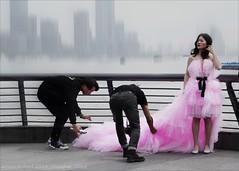 The Wedding Photographers. Shanghai, China.