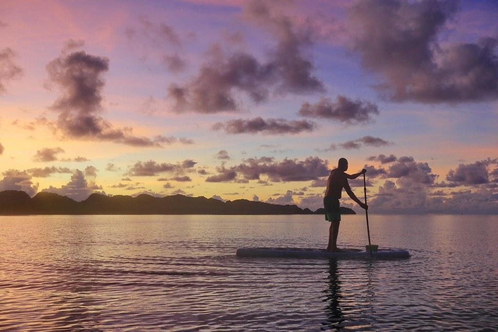 (KKday提供)日出場次的帛琉 SUP 人間天堂立槳體驗 - 映像生活 Image Life拍攝 (1)