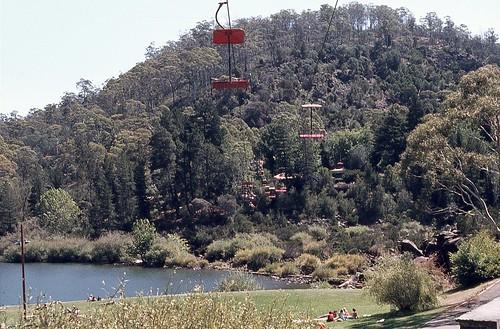 Gorge Scenic Chairlift, Cataract Gorge, Launceston, Tasmania.