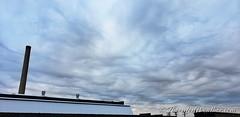 September 17, 2021 - Cool asperitas (undulatus asperatus) clouds. (ThorntonWeather.com)