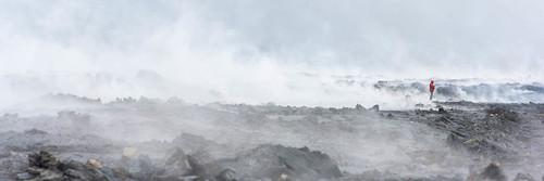 Smoking Lava from Fagradalsfjall