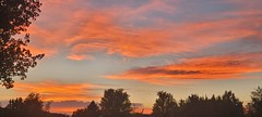 September 26, 2021 - A stunning sunset in Broomfield. (David Canfield)