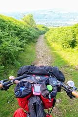 Single-track descent