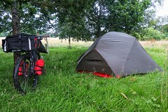 First night wild camp