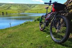 Pause beside Grwyne Fawr Reservoir