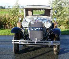 Ford Model A Coupe 1930 grey