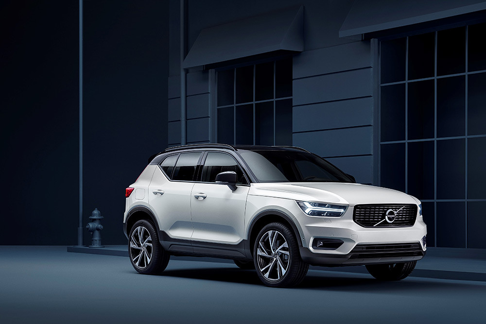 XC40 R-Design expression, in Crystal White Pearl