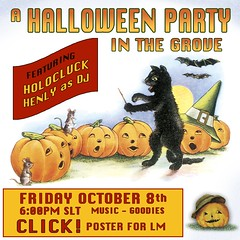 Graphic for Halloween Party Poster!