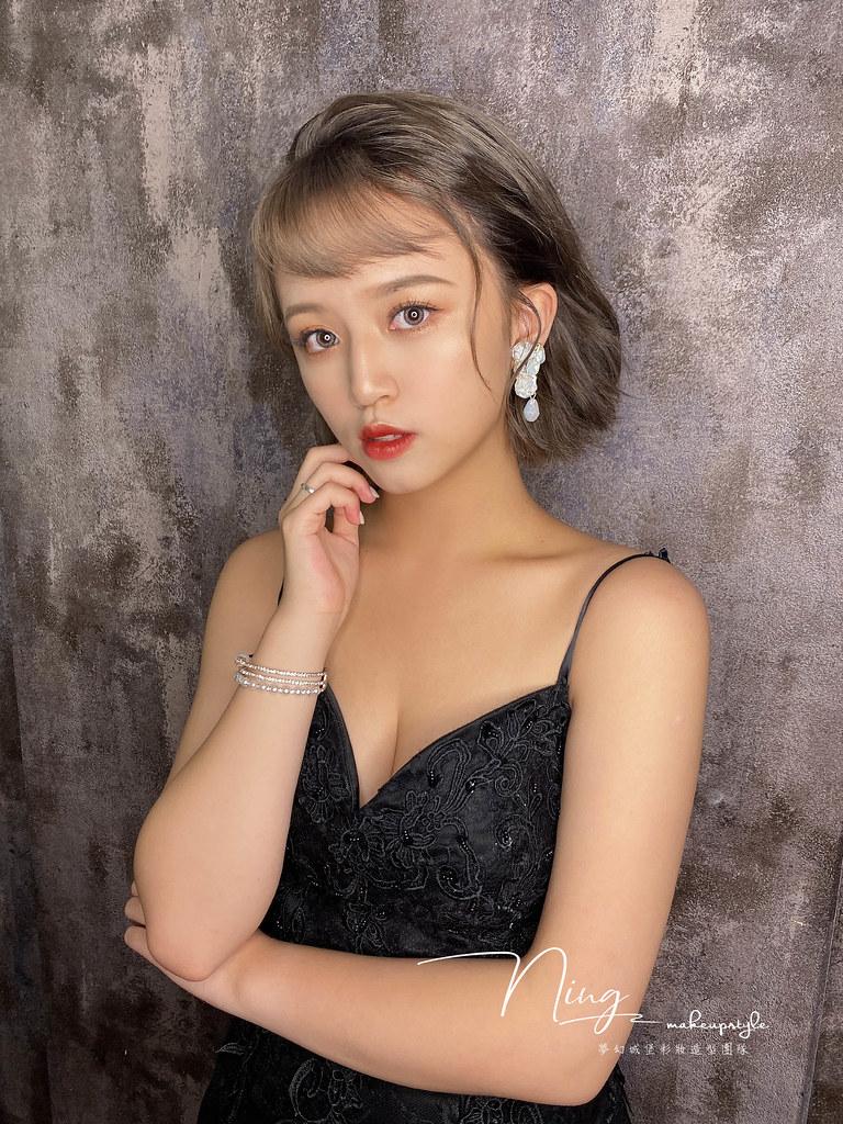【新秘羽寧】新娘造型創作 /短髮-個性風