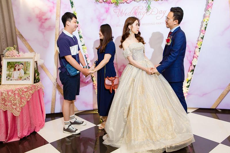 [婚攝] 冠安 & 惠馨 大里菊園婚宴會館 | 儀式晚宴