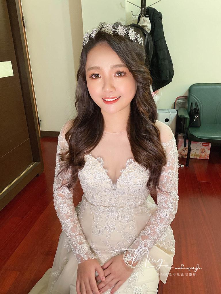 【新秘羽寧】bride姿穎 結婚造型 / 甜美公主