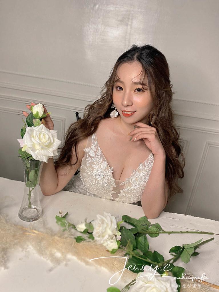 【新秘蓁妮】新娘造型創作 / 韓系空靈感