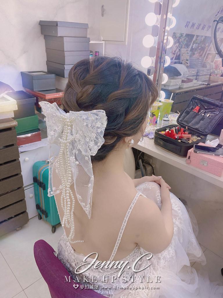 【新秘蓁妮】新娘造型創作 / 短髮-甜美蝴蝶結