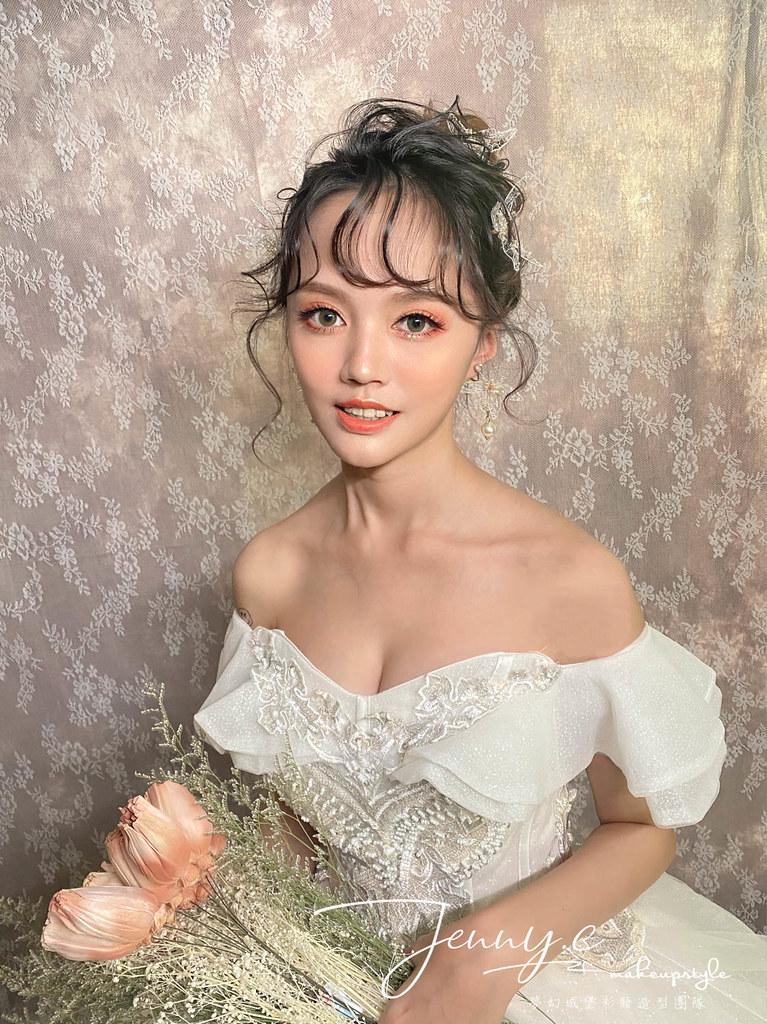 【新秘蓁妮】新娘造型創作 / 仙氣少女