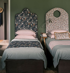Floral Fabric Headboards