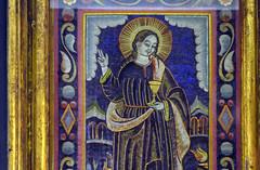 St. John the Evangelist feather mosaic