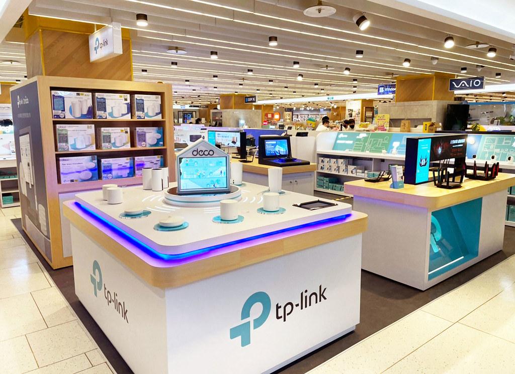 TP-Link 三創櫃位照片2