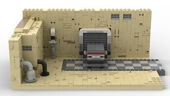 Lego SWII Revisited Tatooine MOC