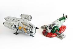 Lego Star Wars MANDALORIAN'S MOC's by Edge of Bricks