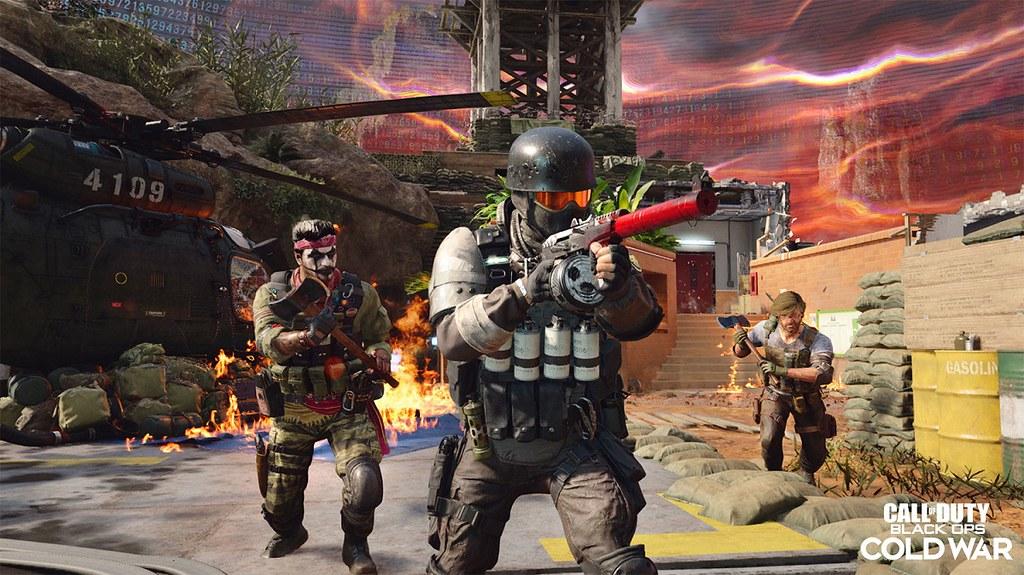 《決勝時刻®:黑色行動冷戰》全新地圖之一,「反洗腦」戰場將帶領玩家前進阿德勒的黑暗回憶