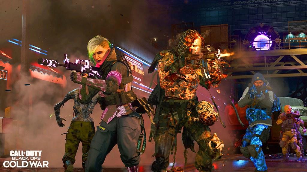 《決勝時刻®:黑色行動冷戰》第六季的殭屍模式將迎來史詩般的結局,推出最後一張回合制地圖「遺落孤魂」