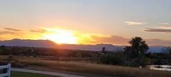 October 5, 2021 - Beautiful Broomfield sunset. (David Canfield)