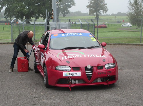 Graham Seager makes sure the 147 GTA is well fuelled