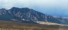 October 8, 2021 - The Flatirons on a nice fall day. (David Canfield)