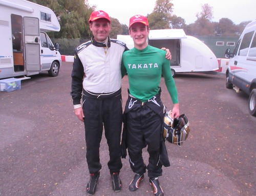 Winning partnership - Roger Evans and Tom Hill