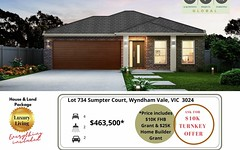 Lot 734 Sumpter Court, Wyndham Vale VIC