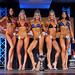 Women's Bikini - Open Class D - 4th Williams 2nd Robinson 1st Bruner 3rd Legassie 5th Kaushal