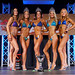 Women's Bikini - Open Class C - 4th Cooper 2nd Rawsthorne 1st Bilyk 3rd Fyfe-Brown 5th Shuck