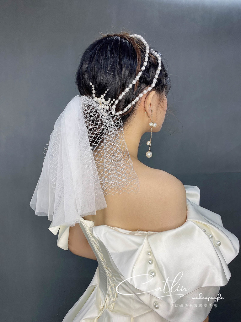 【新秘Catlin】新娘造型創作 / 韓系甜美珍珠