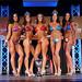 Women's Bikini - Open Class B - 4th Delwo 2nd Mcaskile 1st Martins 3rd Bernas 5th Titley