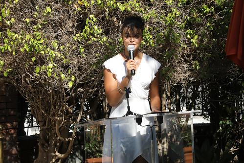 AHF Board Member Mary Ashley Plaque Dedication