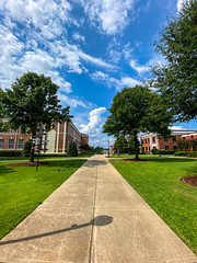 Blue Skies Over Campus