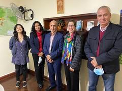 Visita Jesus Quintana, Director de las Americas, Alianza Biovewrsity-CIAT a ACCA, Lima Peru