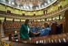 Cuca Gamarra y Ana Beltrán en la Sesión Plenaria (14/10/21)