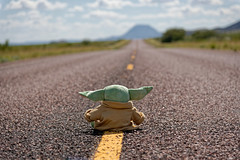 On the Road Again with Baby Yoda