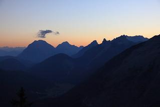 scharnitz in twilight