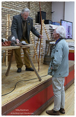Willy Rackham   ..At the King's Lynn woodturners . Oct 2021