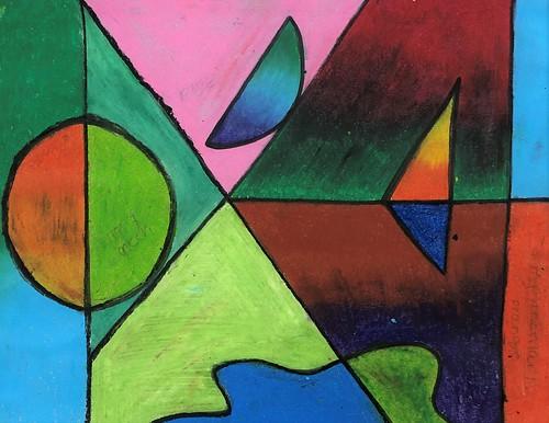 Oil Pastel Project by Lauren Taylor