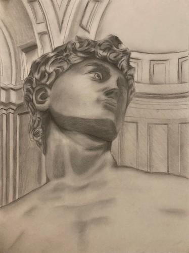David in Detail by Kaylee Bleeker